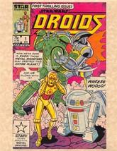 Marvel Comics Star Wars Droids No 1 > C-3PO > R2-D2 > Cover Print - $1.99