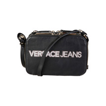 Versace Jeans Handbag; Clutch Bag, Eco-Leather, 2 Zipped Compartments, - $2.535,57 MXN
