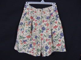 Rafaella Floral Pattern Shorts Size 8 Mori Girl, Casual, Work, Boho - $12.95
