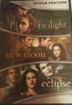 Twilight - New Moon - Eclipse Triple Feature  Dvd  - $11.99