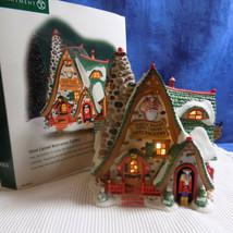 Department 56 North Pole Hand Carved Nut Factory 56.56753 - Euc Original Box - $149.95