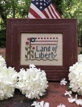 Land of Liberty Kit cross stitch kit Shepherd's Bush - $16.00