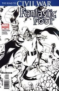 FANTASTIC FOUR #537 2ND PRINT VARIANT (CIVIL WAR) [Comic] [Jan 01, 2006] J. Mich