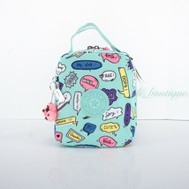 NWT New Kipling KI0374 Lyla Insulated Lunch Bag Polyester Talking Bubble... - $23.95