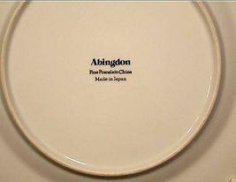 Abingdon Porcelain China Pink Roses AA18 - 1152 Vintage 33 Piece Set image 5
