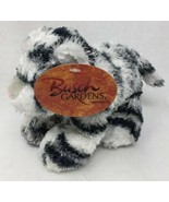 Busch Gardens Plush White Black Tiger Stuffed Beanie Animal Original Tag... - $8.12