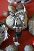POTTERY BARN CAT BOTTLE STOPPER –NWT- A GREAT LITTLE ITEM FUR SOME BAR-T... - $29.95