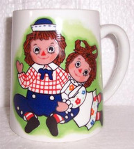 "Vintage 1971 ""Raggedy Ann & Andy"" The Bobbs-Merrill, Co., Inc Ceramic Co... - $28.79"