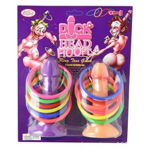 Hen Night Game Willy Dick Head Hoopla 12 Ring Adult Toy Girls Night Out Fun - $10.99