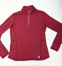 Women's Carhartt Force 1/4 Zip Pullover Shirt Size Med 8/10 MINT CONDITION - $18.49