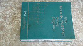1993 FORD TRUCK MPV WIRING WIRING DIAGRAMS MANUAL USED OEM - $35.09