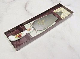 Royal Albert Old Country Roses Cake Pie Serving Utensil New in Box - $37.62