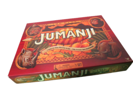 Jumanji The Game 2017 Family Board Game By Cardinal Complete In Box Ages 5+ - £10.07 GBP