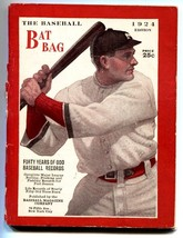 Baseball Bat Bag-1924-rare Baseball publication-mlb - $62.08