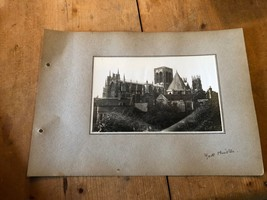 ANTIQUE/VINTAGE PHOTO OF YORK MINSTER CATHEDRAL (ENGLAND) A4-SIZED - $6.36