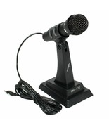 Free Standing External Microphone for Computer PC Singing Chat Gaming Vi... - $31.38