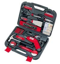 Apollo Tools 135 Piece Household Tool Kit (Red) - $1.157,75 MXN