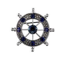 Men's Adornment Fashion Brooches Pins Business Suit Decoration, Helm