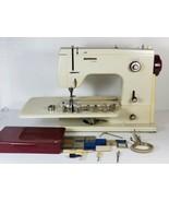 Vintage Bernina 807 Minimatic sewing machine w/ bobbin, Case det.table &... - $391.99