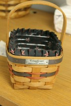 Longaberger 1993 Inaugural Basket Set Includes basket, liner, protector,... - $27.10