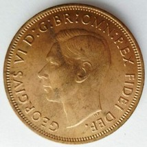 Great Britain, 1949 Penny, Uncirculated - $10.00