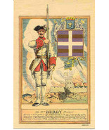 The French 71st Berry Regiment Post Card - $7.00