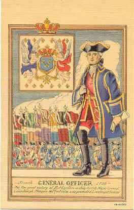 Primary image for French General Marquis de Montcalm Post Card