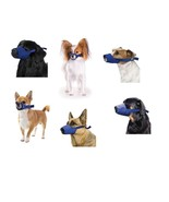 Quick Muzzle for Dogs - XXS to XXXL - Safety Adjustable straps quick rel... - $11.39+
