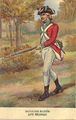 Primary image for The 24th Regiment Battalion Soldier Post Card