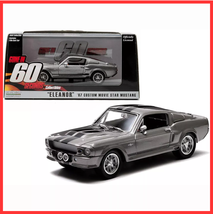 "1967 Ford Shelby Mustang GT500 ""Eleanor"" 1/43 Diecast Model Car by Greenlight - $33.99"