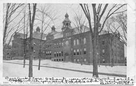 High School Little Falls New York Vintage 1906 Post Card - $5.00