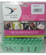 Destron Fearing DuFlex Visual ID Livestock Panel Tags LG Green 25 Sets 2... - $26.99