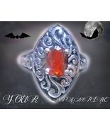 CALL YOUR PERFECT OOAK VAMPIRE CUSTOM SPIRIT RING MAGICK WITCH CASSIA4 - $161.00