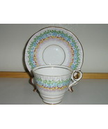 "Vintage Royal Stafford English Bone China Cup & Saucer - ""Glendale"" Pat... - $22.00"