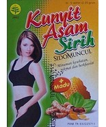 2 Boxes Kunyit Asam Sirih, Tumeric Drink With Honey and Betel Leaves Ext... - $14.99