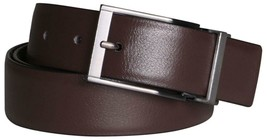 New Calvin Klein Men's Reversible Premium CK Logo 35mm Belt Brown 7538996 BRW image 2