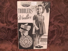 Vintage Knitting Patterns Cardigan Beret Suit TODDLERS 18 Months to 3 Years - $5.99