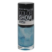 Maybelline Color Show Nail Lacquer Metallics #80 Blue Blowout - $6.85