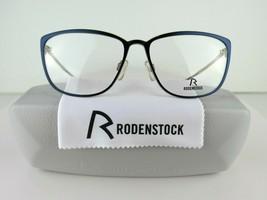 Rodenstock R 2569 D (Dark Blue /Light Gold) 55-15-140 Eyeglass Frames  - $38.00