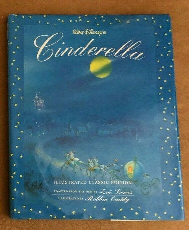Walt Disney's Cinderella Illustrated Classics Edition Hardcover storybook