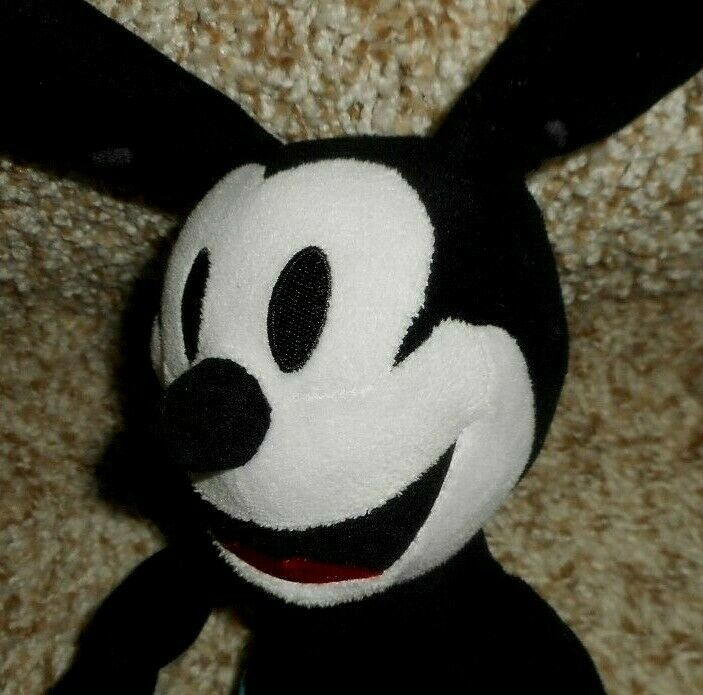 """10"""" Disney Parques Oswald The Lucky Conejo Mickey Mouse Peluche Plush Toy"""