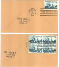 New York World's Fair first day covers single & block of 4 April 22, 1964 - $3.99