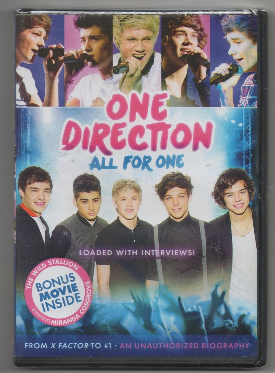 Primary image for One Direction All for One DVD Limited Edition 2012 Harry Styles, Niall Horan