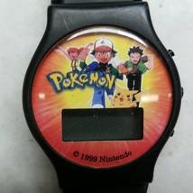 Pokemon Nintendo Digital Wrist Watch BD&A 1999 - $17.09