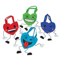 Valentine Character Tote, Choose from 4 Colors - $4.70