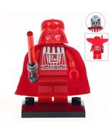 Darth Vader (Red Blood Edition) Star Wars Figure For Custom Lego Minifigures Toy - £2.19 GBP
