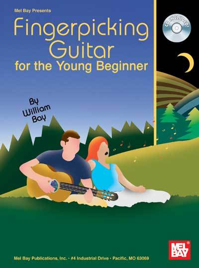 FIngerpicking Guitar For The Young Beginner/Book w/CD