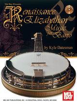 Renaissance & Elizabethan Music For Banjo Book/CD Set - $17.95