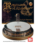 Renaissance & Elizabethan Music For Banjo Book/CD Set - $17.95