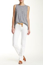 Current/Elliott Women's The Stove Pipe Jean In White Size 24 - $55.86